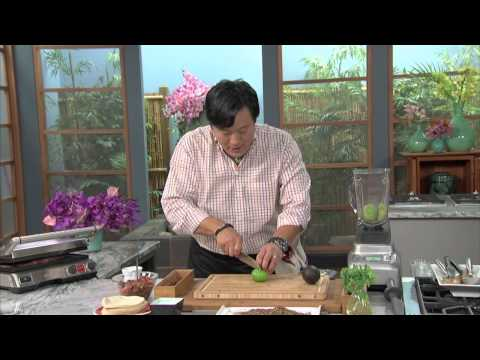 Breville Presents Simply Ming Pepper Spiced Flank Fajitas Recipe