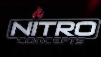 Nitro Concepts Gaming Table - korkeussäädettävät pelipöydät