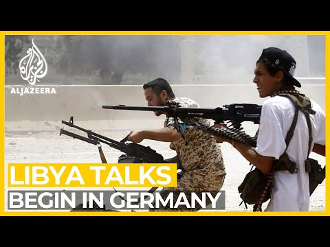 Libya rivals, world powers talk peace at Berlin summit