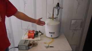 Самодельный компрессор для аэрографа из автомобильного компрессора. Handmade air brush compressor(Продам компрессор для аэрографа на базе автомобильного компрессора. Одно из преимуществ использования..., 2014-02-26T12:45:55.000Z)