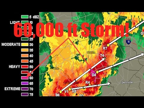 *Mile Wide* Tornado reported/Americus, GA | 60,000ft Godzilla Storm spotted near Reidsville, GA