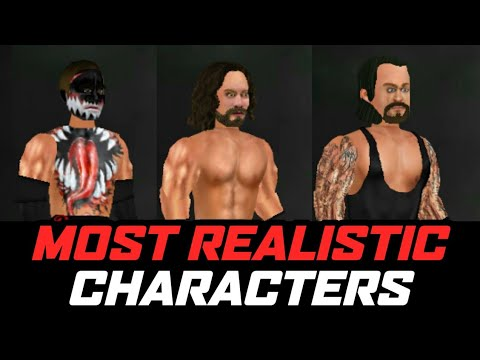 WRESTLING EVOLUTION MOST REALISTIC CHARACTERS   WR2D