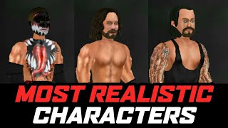 WRESTL NG EVOLUT ON MOST REAL ST C CHARACTERS  WR2D REAL ST C MOD BY HM CREAT ONS