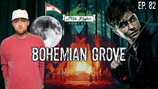 Gambar cover Bohemian Grove, Harry Potter Banned, Mac Miller Dealer Charged & India Moon Landing - Podcast #82
