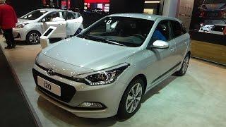 2017 Hyundai i20 Exterior and Interior Automobile Barcelona 2017