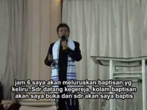 Baptisan pembaharuan Kehilat Alef Taw Magelang tahun 2006