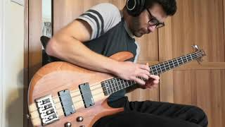 Plini - Cascade - 4 String Bass cover (Drums & Bass only)