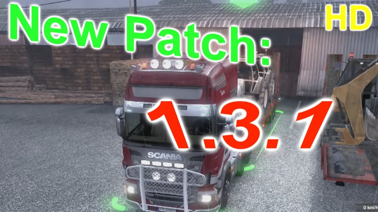Euro Truck Simulator 2 New Patch 1 3 1 Gameplay Hd Youtube