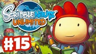 Scribblenauts Unlimited - Gameplay Walkthrough Part 15 - Anaphora Falls (PC, Wii U, 3DS)