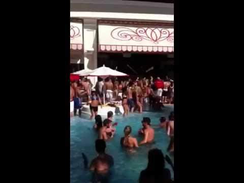 Encore Beach club Las Vegas 2012