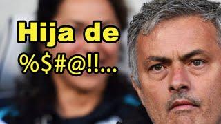 Ella volvió loco a Mourinho | El Bernabéu ovaciona a rivales