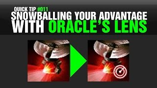 Quick Tip #011 - Snowballing Advantage with Oracle's Lens (League of Legends, Patch 4.11)