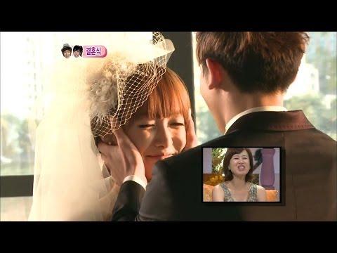 【TVPP】Nichkhun(2PM) - Khuntoria's Forehead Kiss, 닉쿤(투피엠) - 쿤토리아 이마키스 @ We Got Married