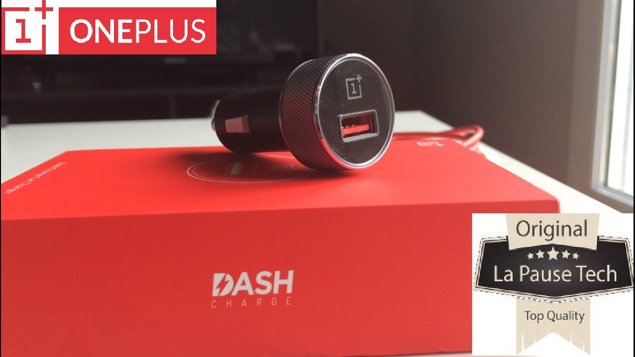 OnePlus Dash Car Charger : le chargeur voiture express