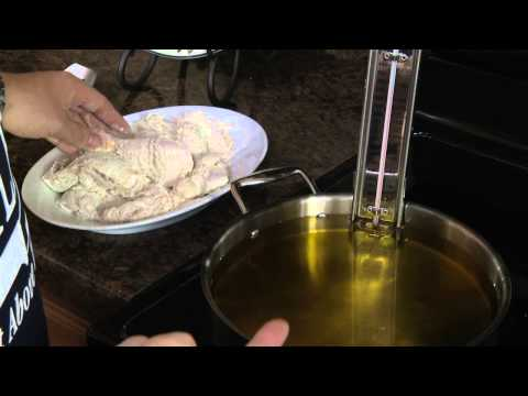 Fried Chicken Recipe And Demonstration (video) | RadaCutlery.com