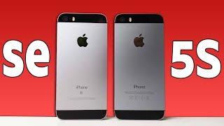 iPhone SE vs iPhone 5S - ЧТО ВЫБРАТЬ? ТЕСТ СКОРОСТИ!