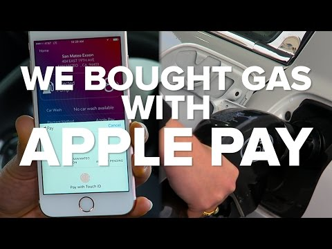 We Bought Gas With Apple Pay