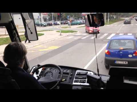 Bahati vozač psuje, preti i krši propise