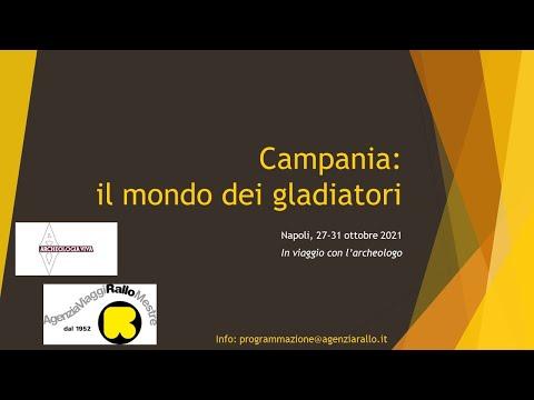 Campania: nella terra dei gladiatori. Viaggio Arch...