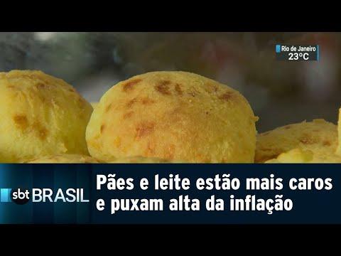Alimentos comuns do café da manhã estão pesando mais no bolso | SBT Brasil (21/07/18)