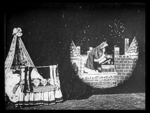 The world's first Christmas movie is a silent one made in 1898