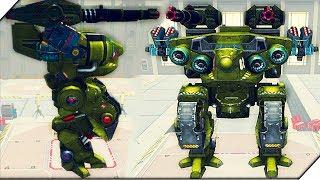 Мой РОБОТ НАТАШКА ДОМИНАТОР - Игра War Robots.Вар роботс. Лучшие игры для андроид