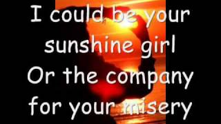 Sunshine Girl - Britt Nicole - Lyrics