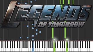 DC's Legends of Tomorrow - Main Theme | Piano Tutorial