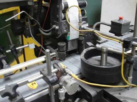 Label-Aire Model 2111CD blow on, pressure sensitive labeler