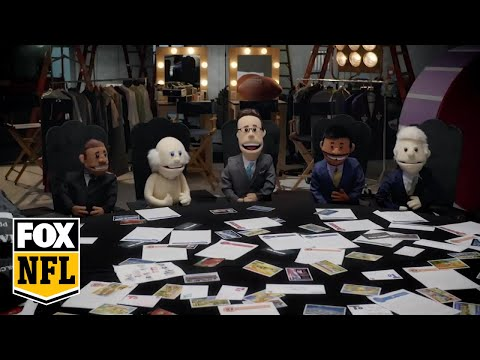 Puppet FOX NFL Sunday crew hold intervention for Rob Riggle  RIGGLE'S PICKS  FOX NFL