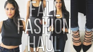 Fall Fashion Haul & Try on! BaubleBar, Zara, Forever21 and more...!