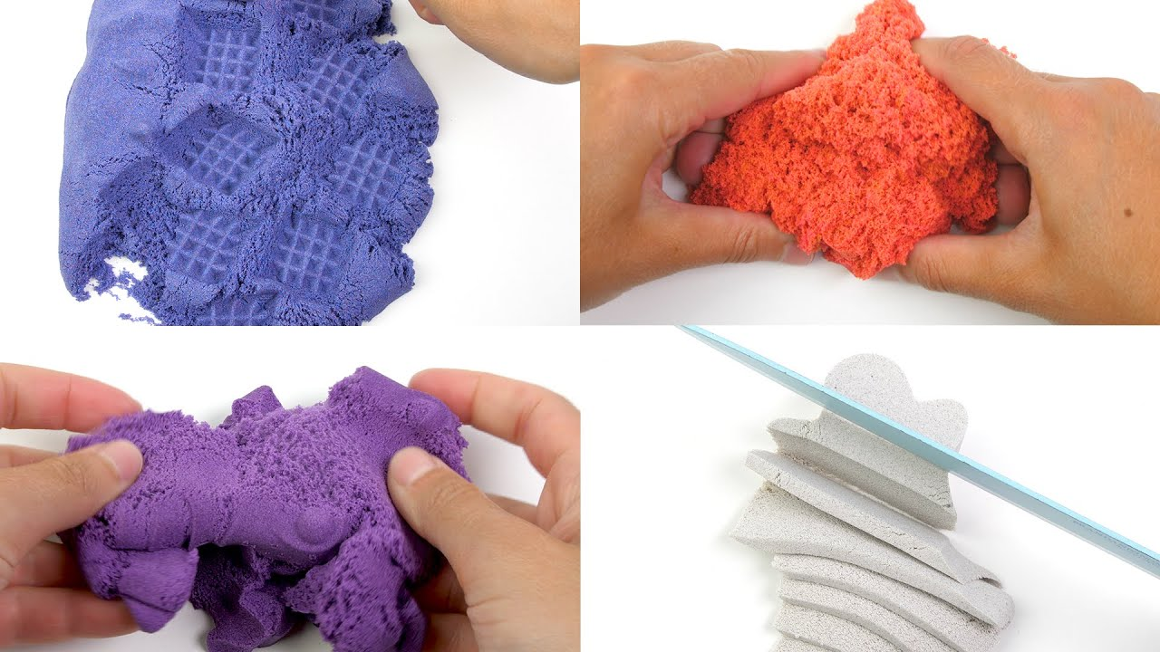 What Am I?!  Guess The Mold of these incredible Kinetic Sand creations! #2
