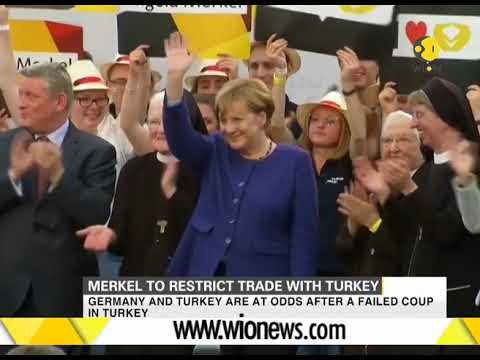 Merkel threatens to restrict trade with Turkey over arrest of its citizens