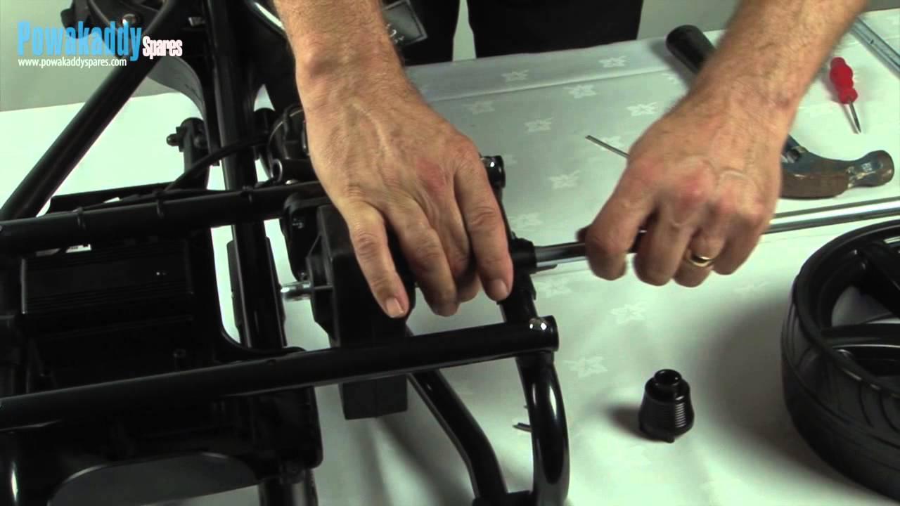 Powakaddy Golf Trolley - Axle Replacement Guide