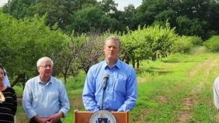 Governor Baker, state officials discuss drought response, water conservation tips