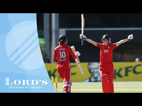 Charlotte Edwards hits 92 not out to retain the Ashes for England | Match Highlights