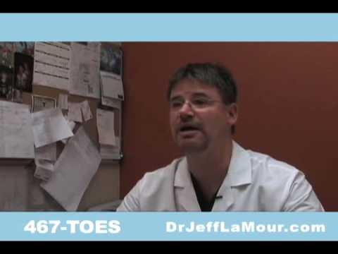 Toenail Fungus Cure with PinPoint Laser – Dr. Jeff Lamour