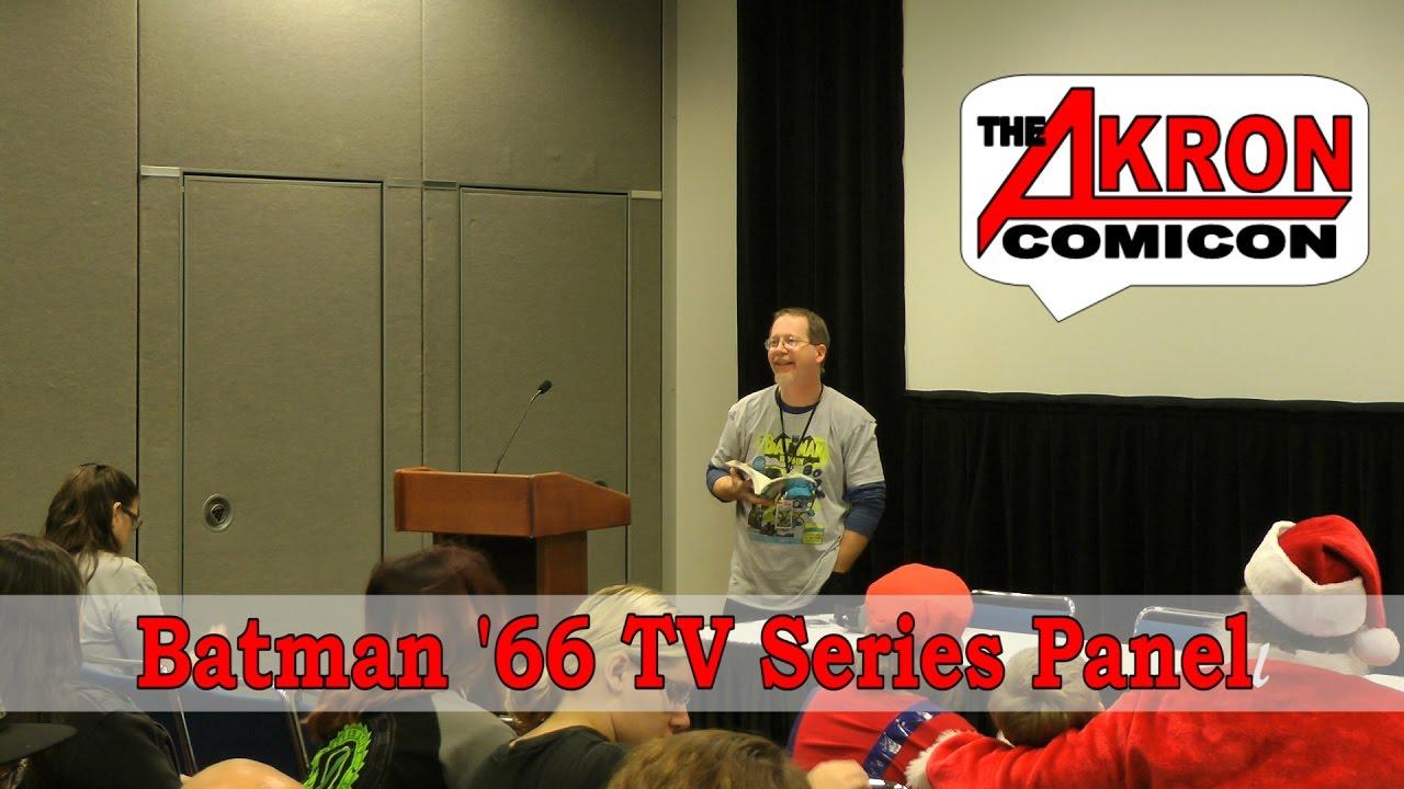 Batman '66 TV Show Panel – Akron Comicon 2016