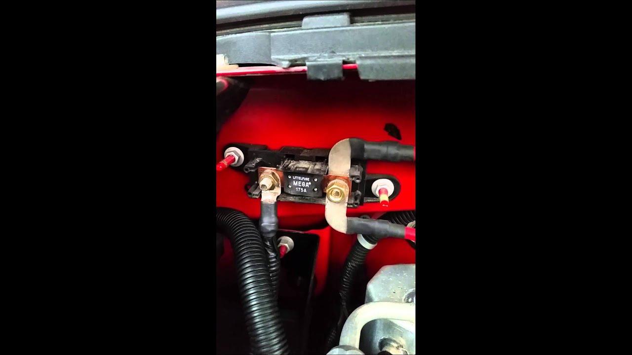 Silverado electrical problems Mega fuse?  YouTube