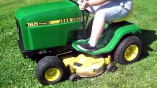 John Deere Demo - 165 Hydro