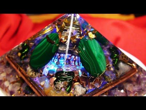 ORGONE ENERGY PYRAMIDS/ Taking  Shape/Power to spare!