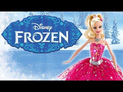 Barbie Goes to Disney Frozen | Elsa, Anna, Red Carpet Barbie, Ice Skating Barbie, & More