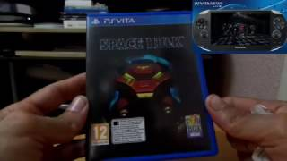 Unboxing - Space Hulk for PlayStation Vita - By snapdragon.