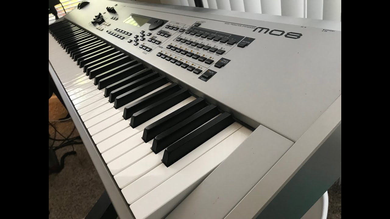 Download Yamaha MO8 Music Production Synthesizer Review
