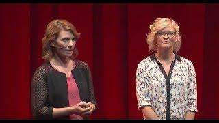 Über den Mut, echte Begegnungen zu wagen | Saskia Rudolph & Andrea Horn | TEDxDresden