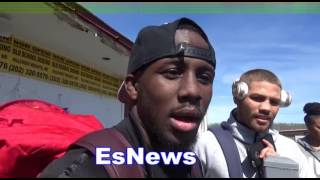 Tevin Farmer - Even In A Phone Booth I Wont Get Hit! EsNews Boxing