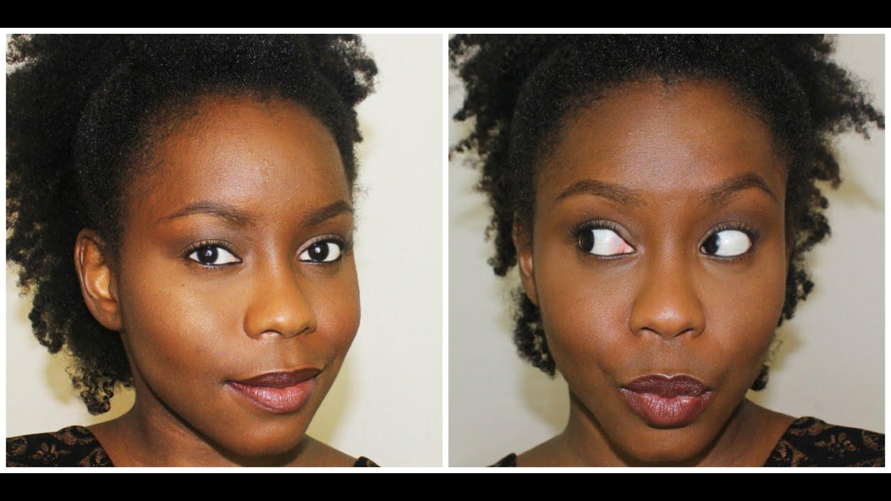 """Bien-aimé No Make up"""" Make up / Maquillage naturel - Peaux noires - YouTube BE49"""