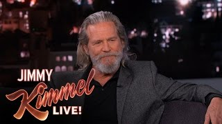 Jeff Bridges and Jimmy Kimmel on Having Anxiety