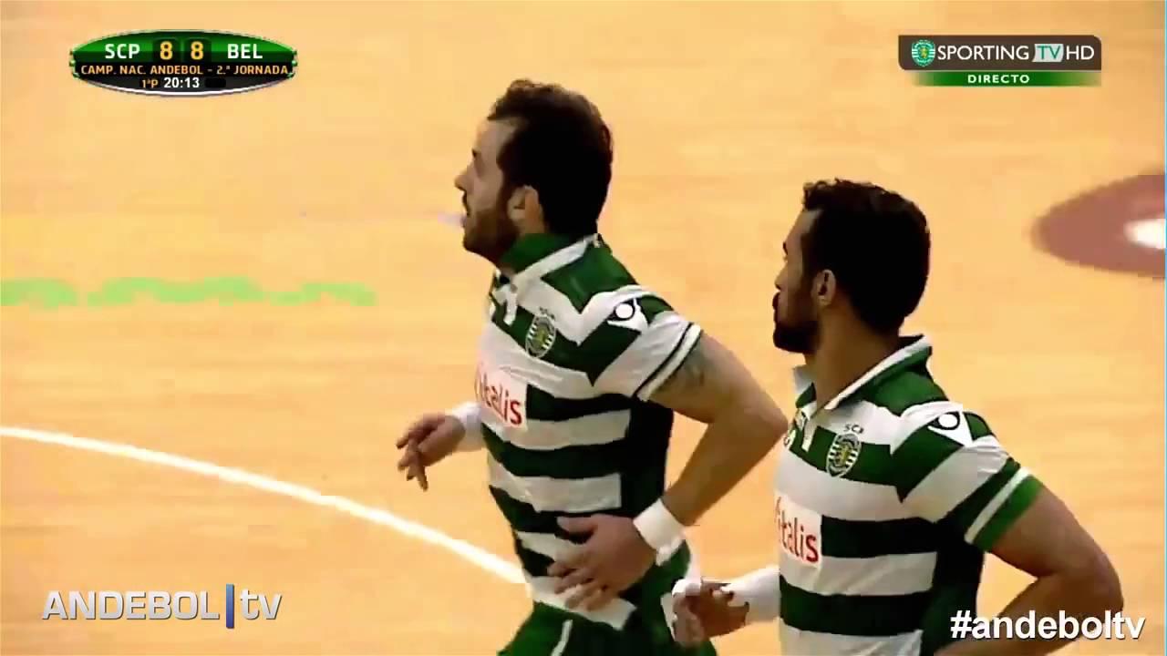 Andebol :: 02J :: Sporting - 33 x Belenenses - 19 de 2015/2016