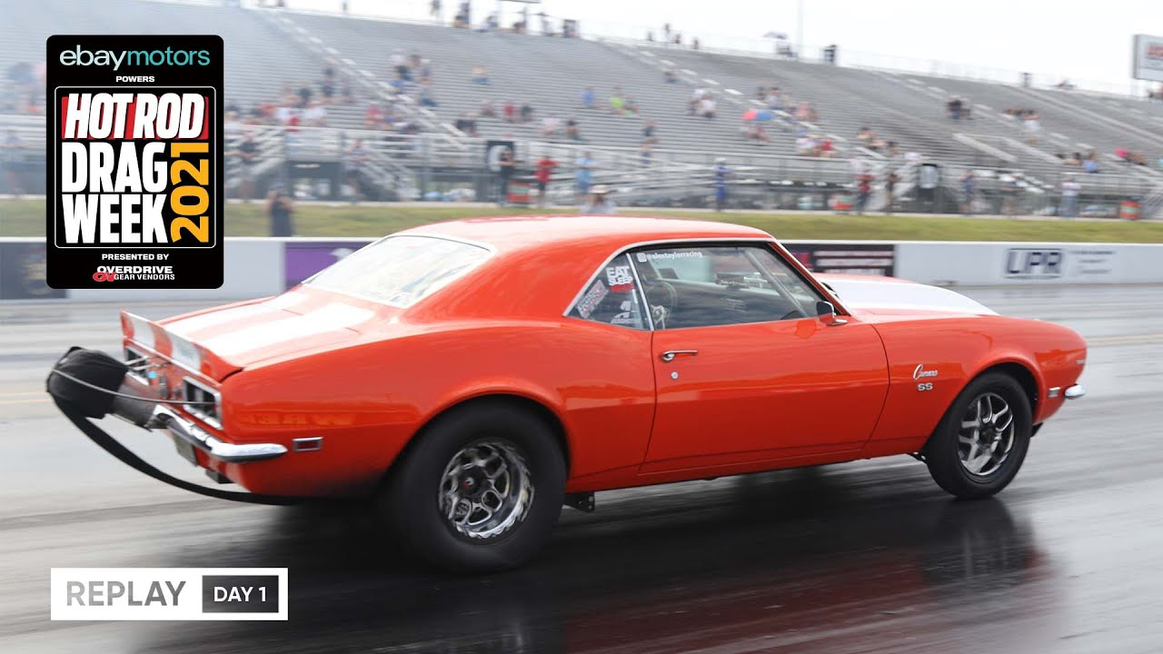 Download Day 1 - HOT ROD Drag Week 2021 Livestream REPLAY